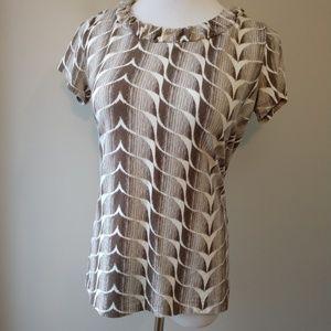 < Dana Buchman >  Pattern Top